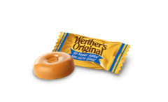 No Sugar Added Caramel Hard Candies