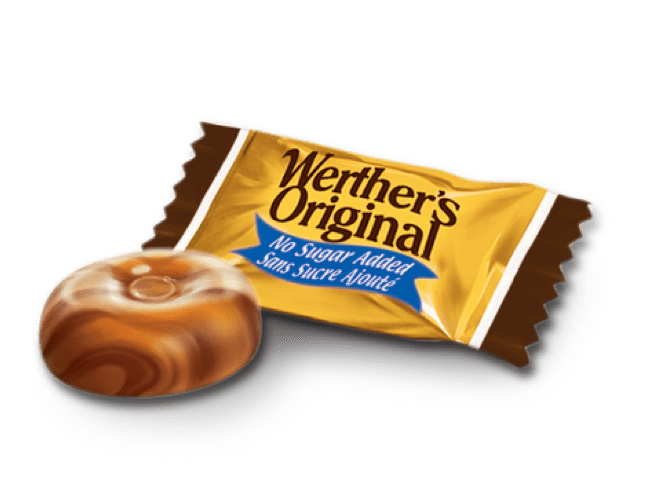No Sugar Added Caramel Coffee Hard Candies